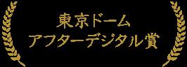 東京ドーム アフターデジタル賞